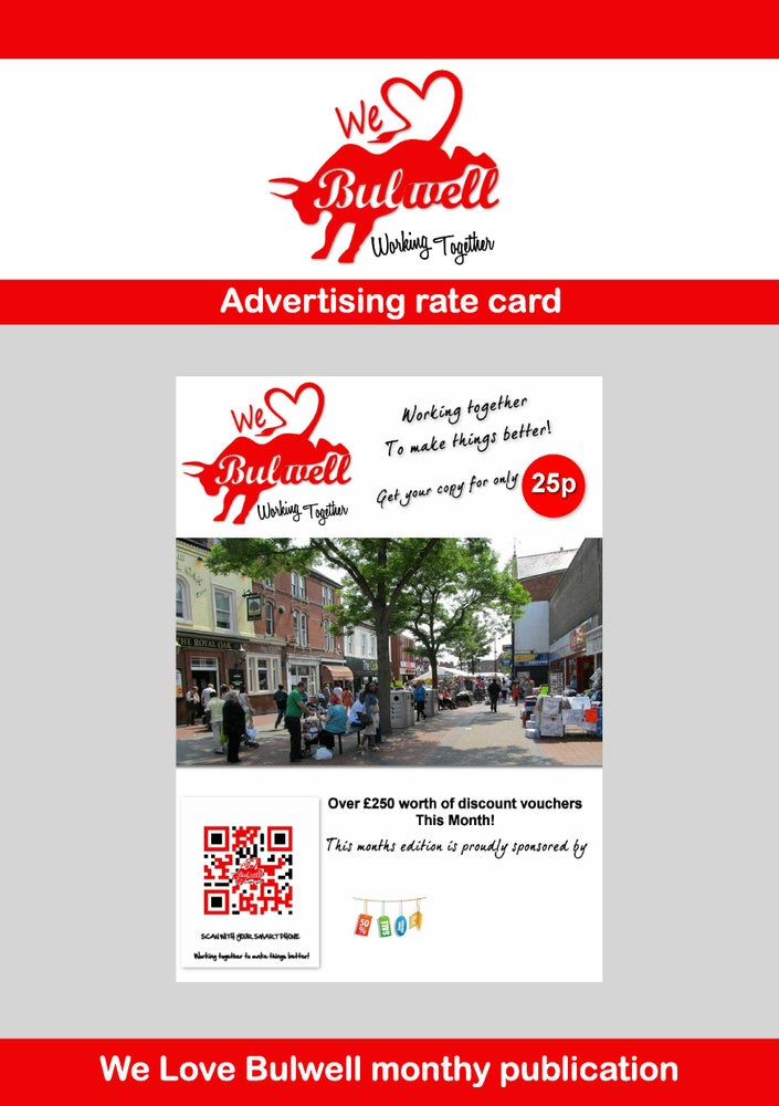 Image of Advertise in the We Love Bulwell Publication.