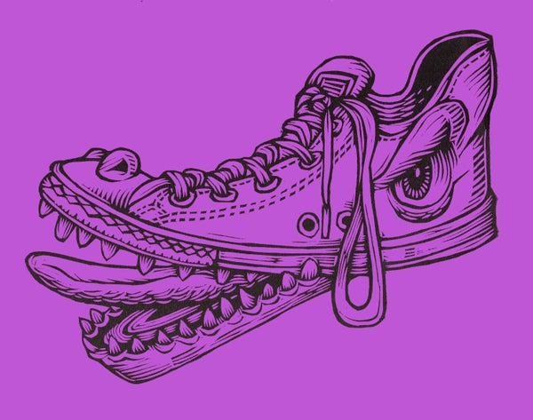 Image of Shoe Monster Print