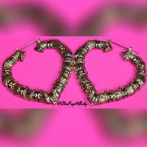 Image of Heartbreaker Bamboo Earrings