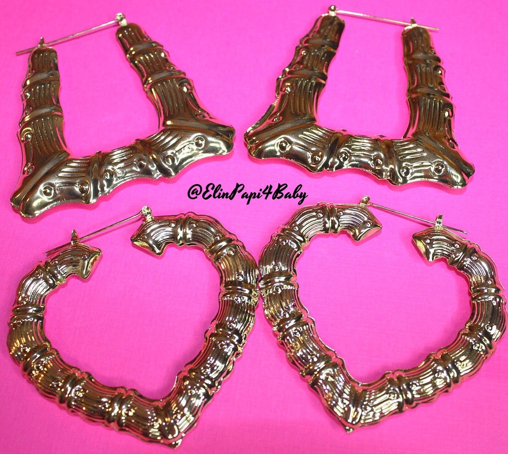 Image of Heartbreaker Bamboo Earrings