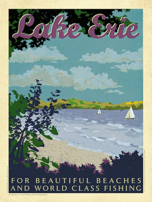 Image of Lake Erie Print No. [043]