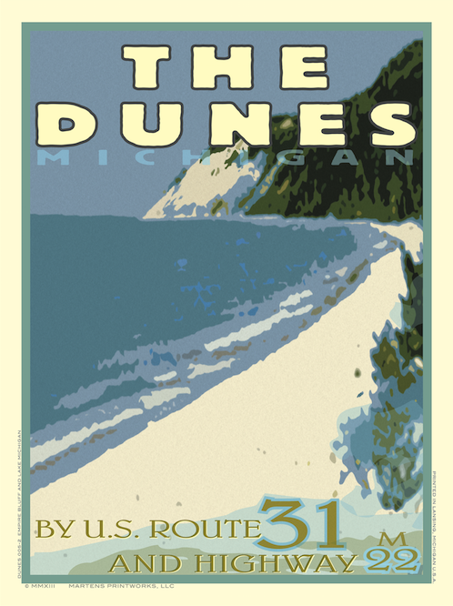 Image of Dunes Print 18x24 No. [005]