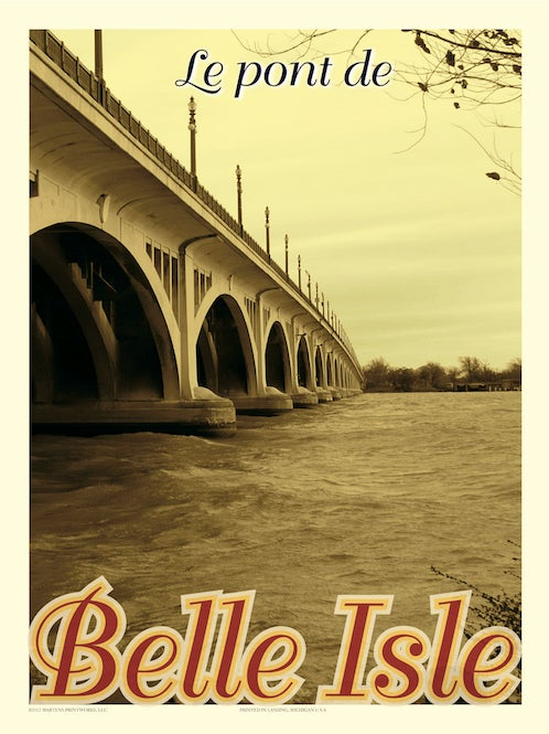 Image of Belle Isle 18x24 Print No. [019]