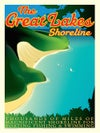 Great Lakes Shoreline Print No. [013]