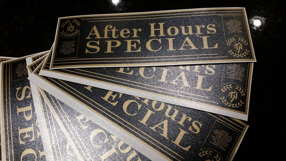 Image of AFTER HOURS SPECIAL