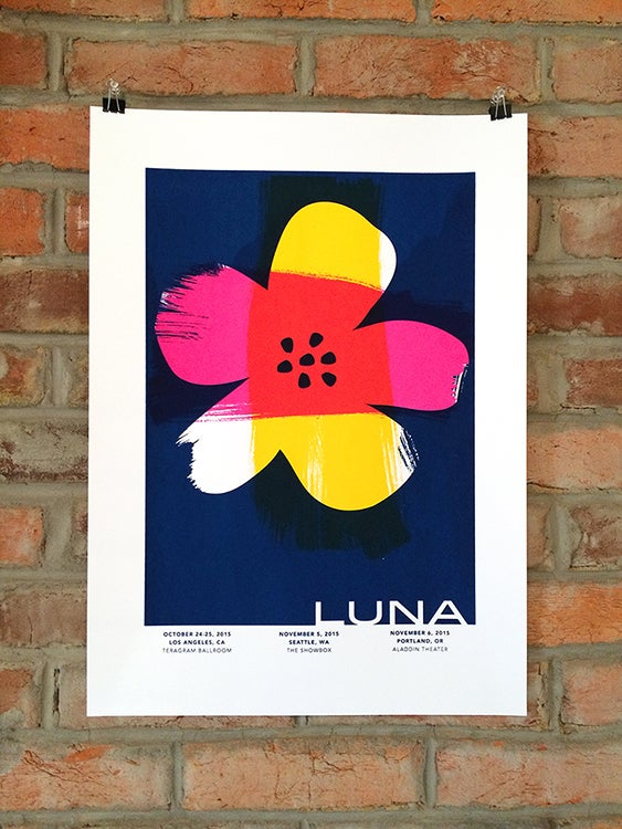 Image of Luna West Coast US Tour Posters