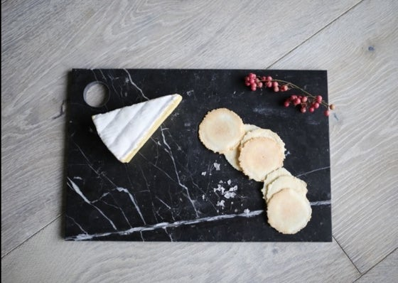 Image of Black Marble Cheese Board