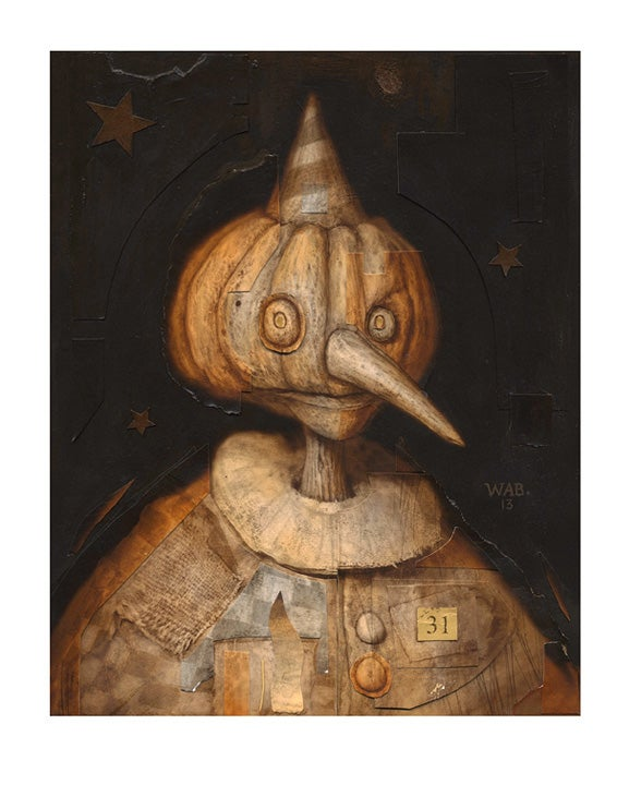 "Image of ""Autumnal Effigy 1"" Limited Edition print"
