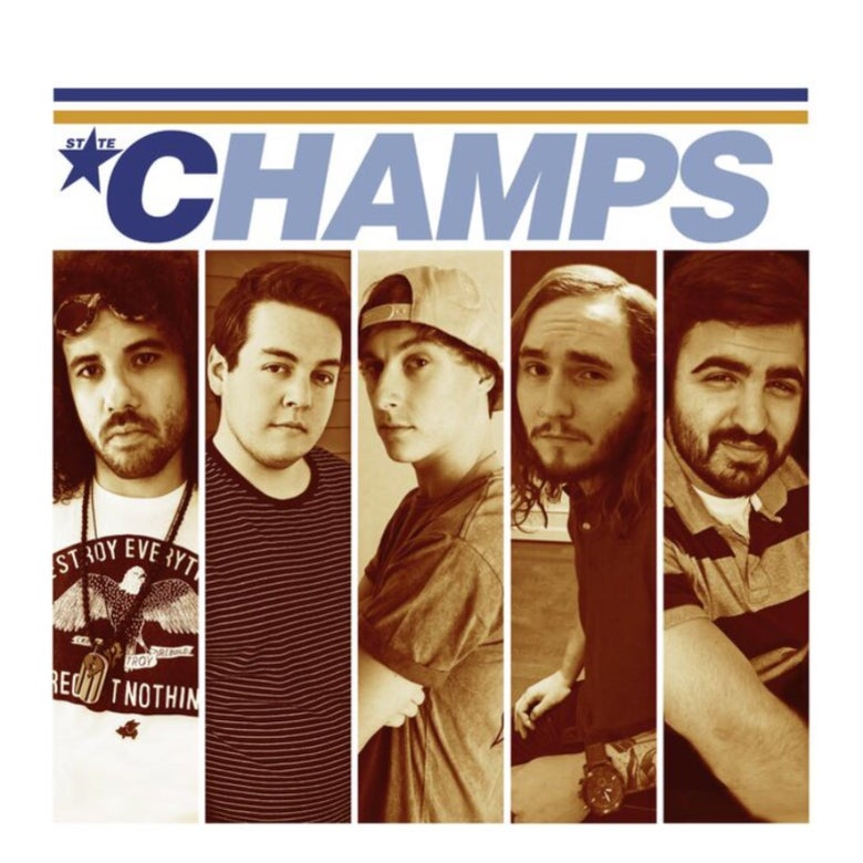 Image of STATE CHAMPS - NSYNC Rip 2015 Tour T-Shirt