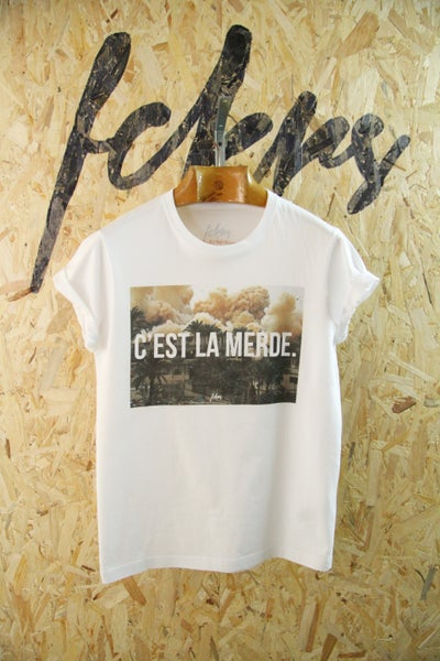 "Image of ""C'est la merde."" By FCKRS"