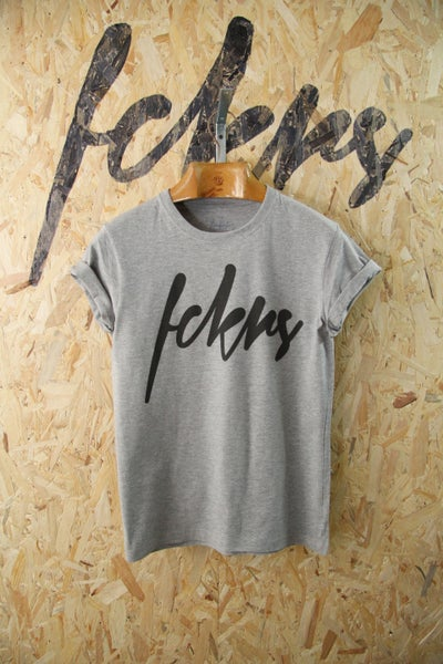 Image of Black By FCKRS® Gris chiné