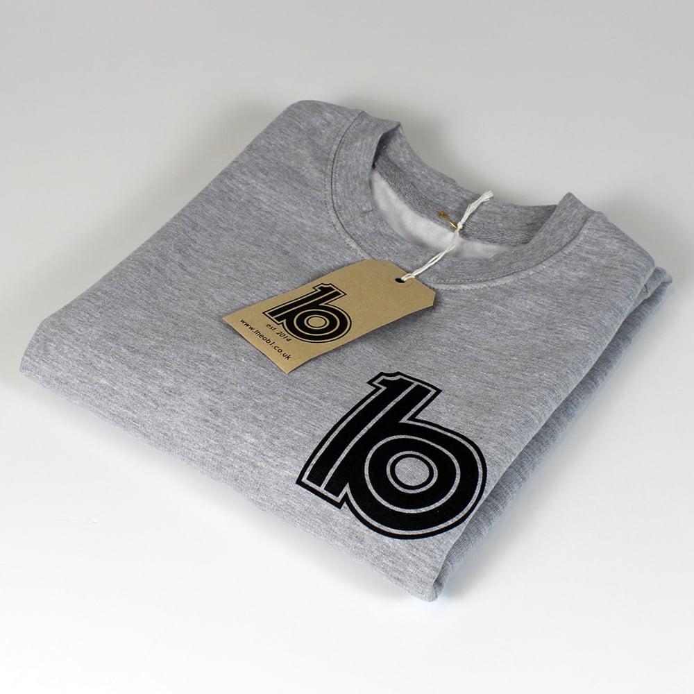 Image of Grey Logo Sweat