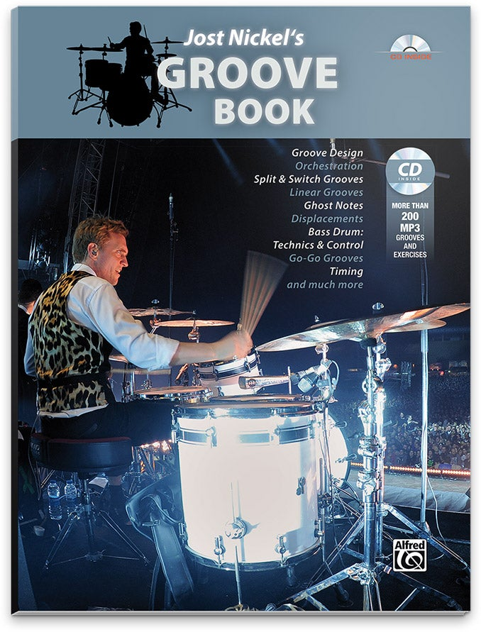 Image of Jost Nickel's GROOVE BOOK - ENGLISH (Signed Copy)
