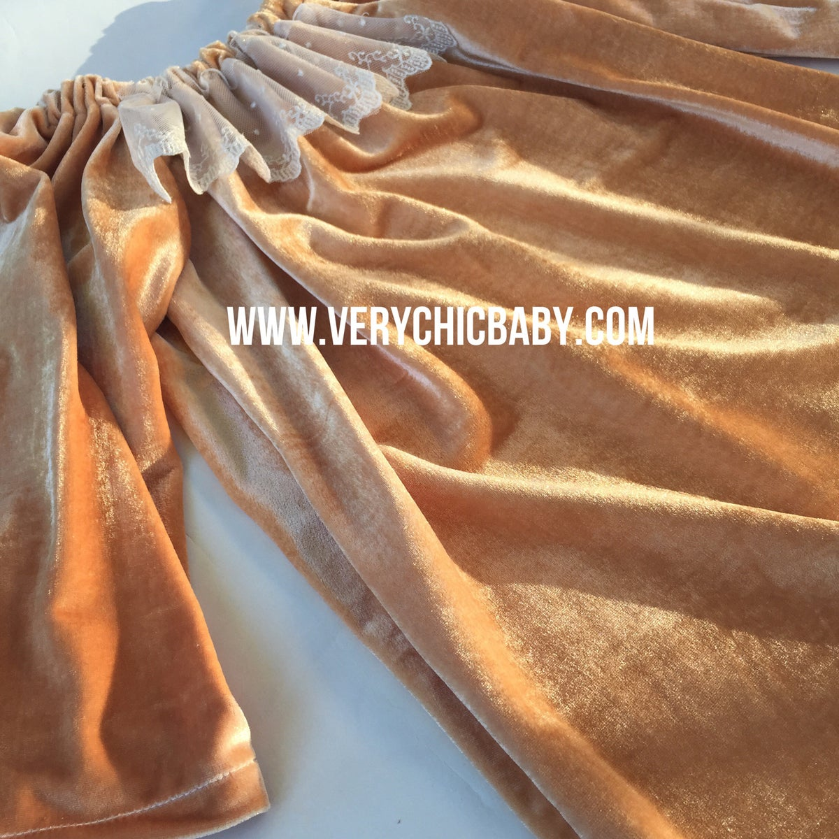 Image of Caramel Velour Dress