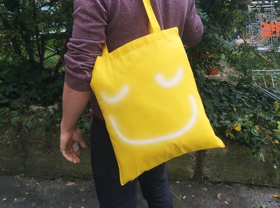 Image of Spheres Austin Lee Tote bag