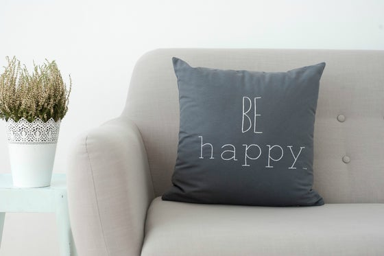 Image of Cojín BE HAPPY (Funda)