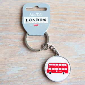 Alice Tait 'London Bus' Keyring - Alice Tait Shop