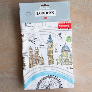 Alice Tait 'Map of London' Tea Towel - Alice Tait Shop