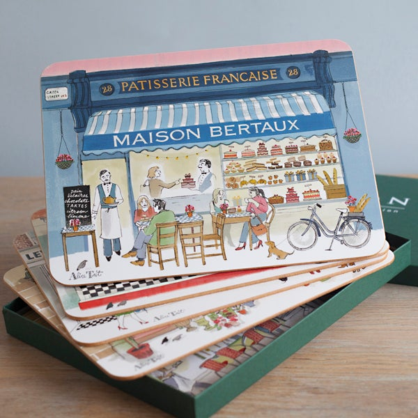 Alice Tait London Shop Fronts Placemats - Alice Tait Shop