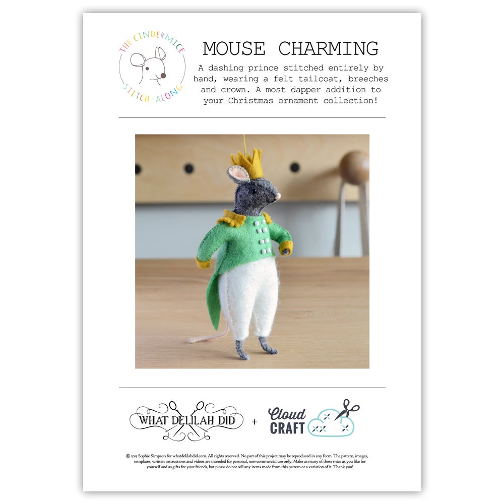 Image of Mouse Charming PDF Pattern