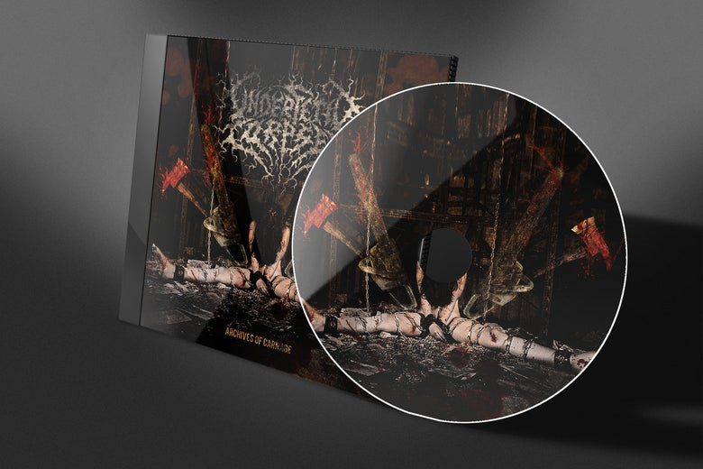 "Image of Under Fetid Corpses - ""Archives Of Carnage"""