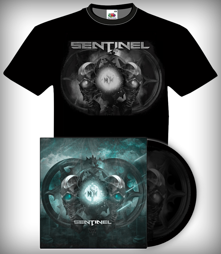 Image of Sentinel Shirt and Album Package