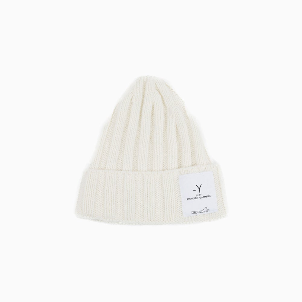 Image of bluey Wool Watch Cap - OFF WHITE