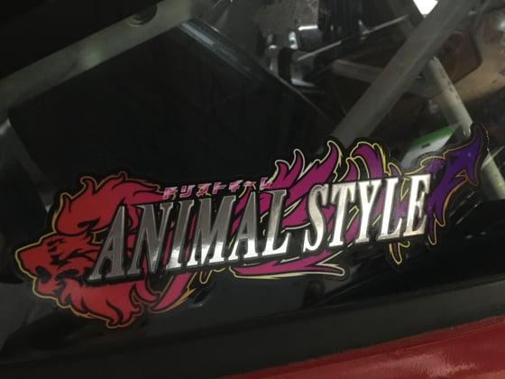 Image of ドリフトチーム Animal Style sticker