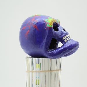 Image of Purple Sugar Skull