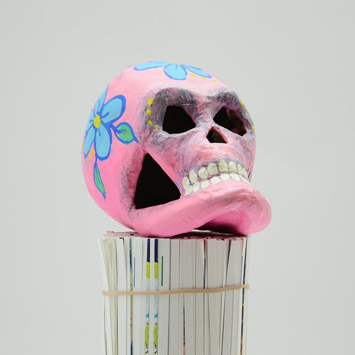 Image of Pink Sugar Skull