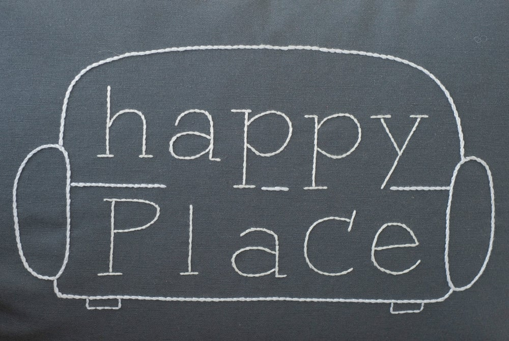 Image of Cojín Happy Place (Funda)