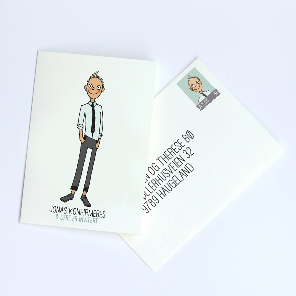 Image of Boy Card
