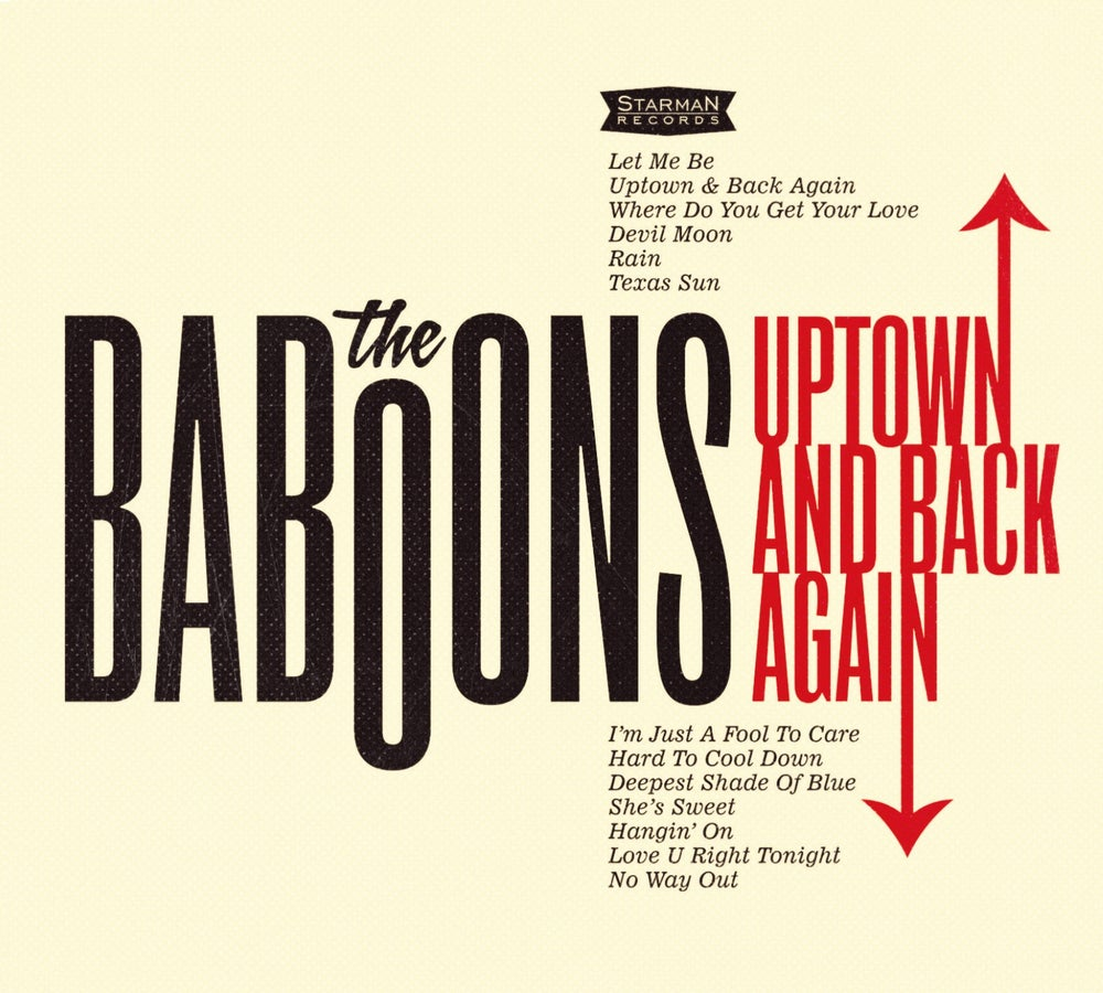 Image of The Baboons - Uptown And Back Again (2015) CD