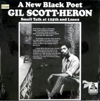 Image of Gil Scott Heron Small Talk at 125th and Lenox Ltd Ed. Reissue
