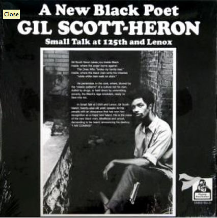 Image of Gil Scott Heron Small Talk at 125th and Lenox Ltd Ed. Reissue