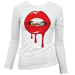Image of Bite The Bullet Tee (Red) Long Sleeve