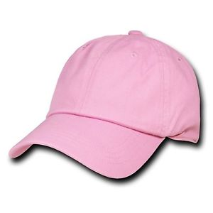 Image of BABY PINK 6 PANEL CAP