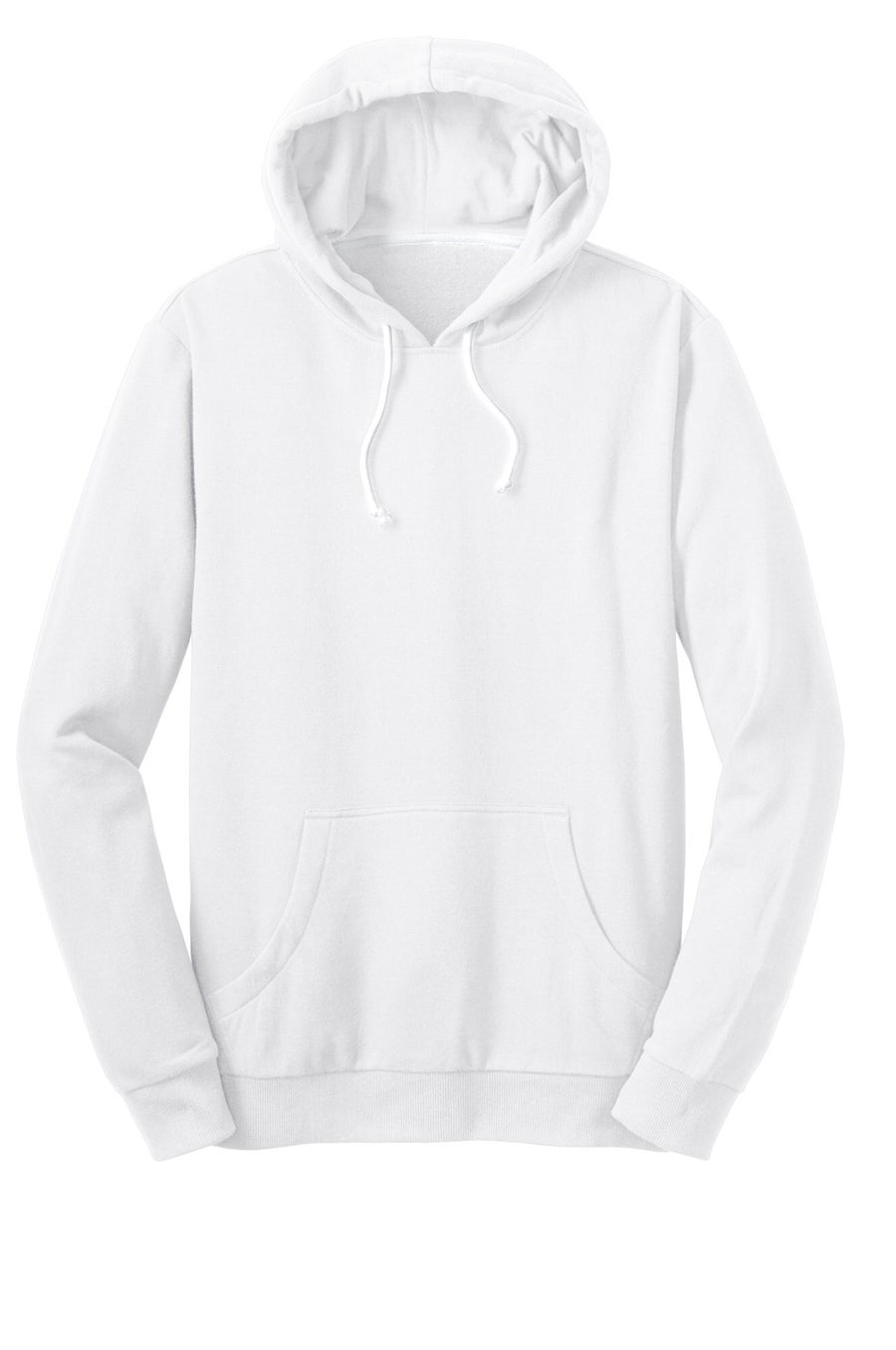 Image of PULLOVER HOODIE // PURE WHITE