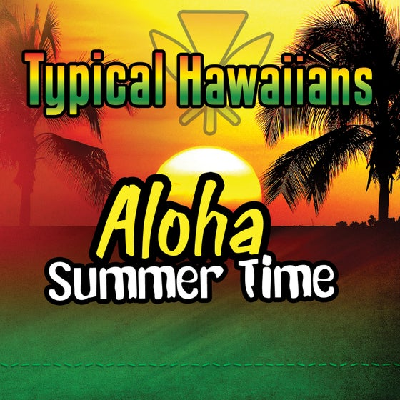"Image of Typical Hawaiians "" Aloha Sumer Time "" CD's Single"