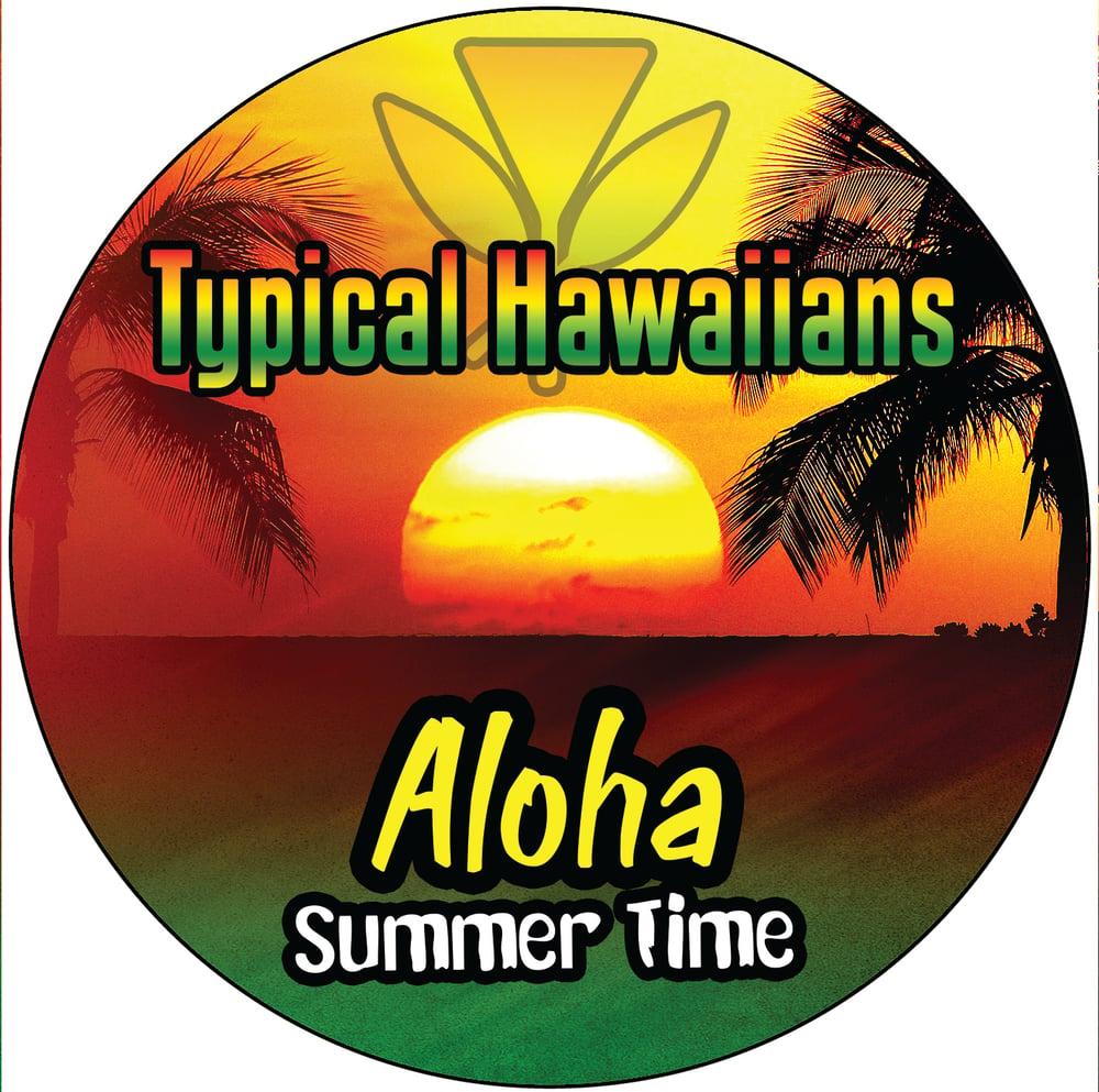 "Image of Typical Hawaiians "" Aloha Sumer Time "" CD's Single"