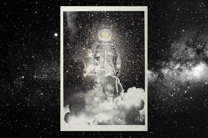Image of Spaceman / silkscreen poster