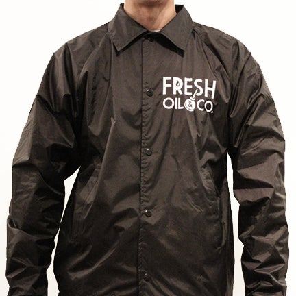 Image of ORIGINAL COACH JACKET - BLACK