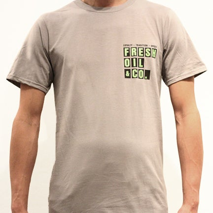 Image of PIT BOARD TEE - SILVER