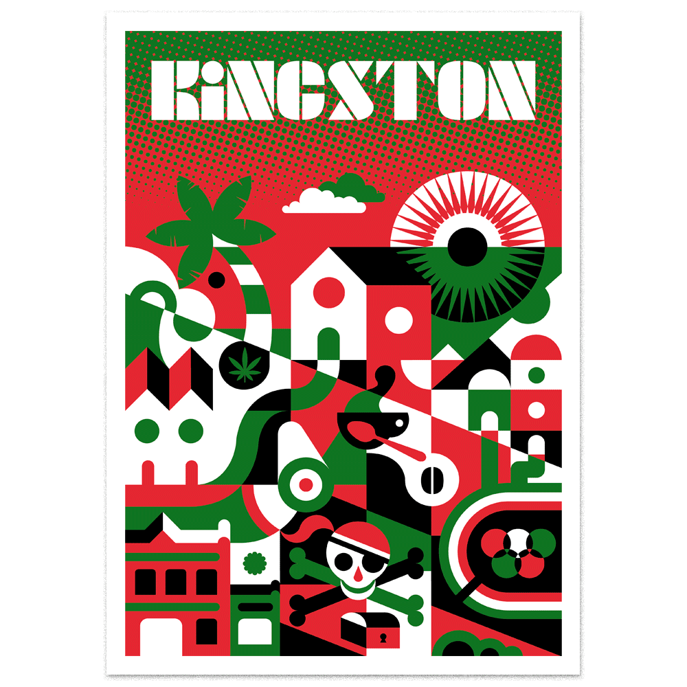 Image of Serigrafía Kingston / Kingston Silkscreen