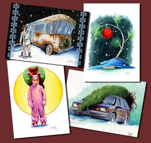 Image of Limited Edition Christmas Card Pack