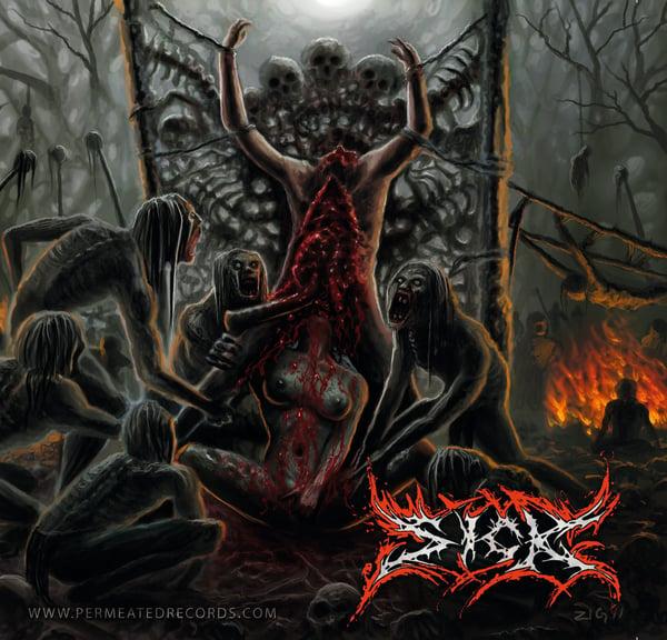 Image of Sick - Cannibalistic Torment -  CD