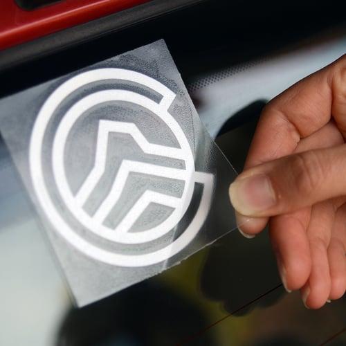 Image of CO14k Logo Die-cut Sticker
