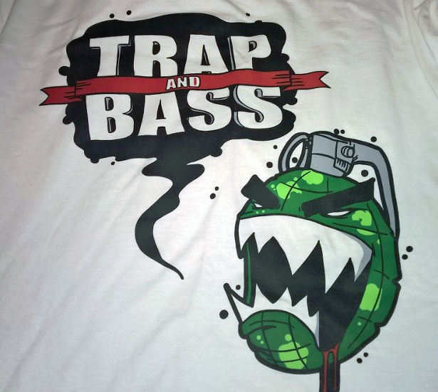 Image of Trap and Bass Grenade Longsleeve T-Shirt (Limited Edition)