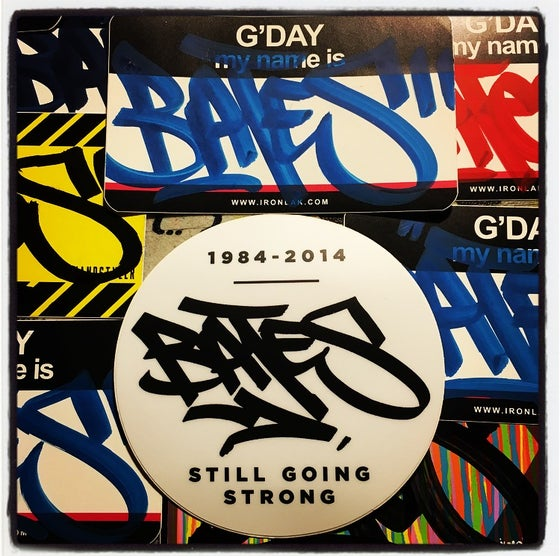 Image of BATES AIO STICKER PACK