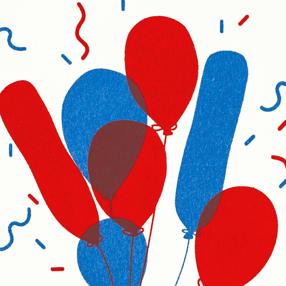 Image of Bunch 'o Balloons card